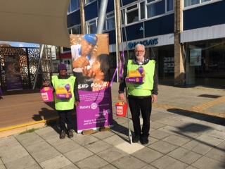 End Polio Collection in Woodley Town Centre - End Polio Collection