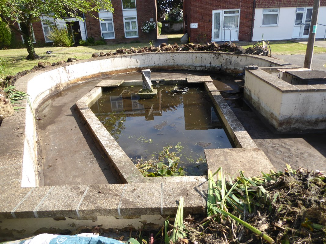 Ingleton House Pond Project  - June 2020 - pond day 3 completed