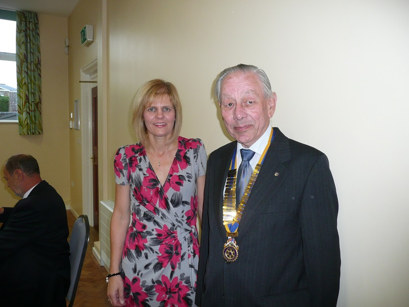 40 years of Rotary in Chatteris - president 2011