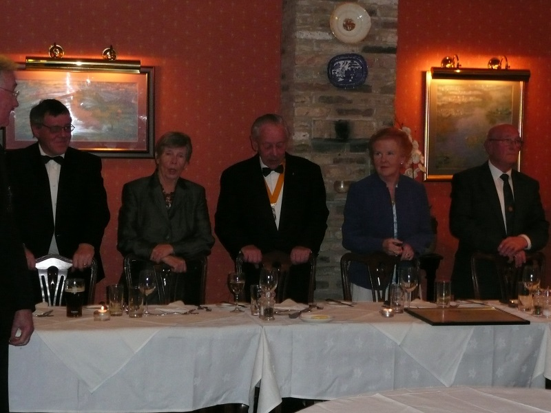40 years of Rotary in Chatteris - president charternight2011