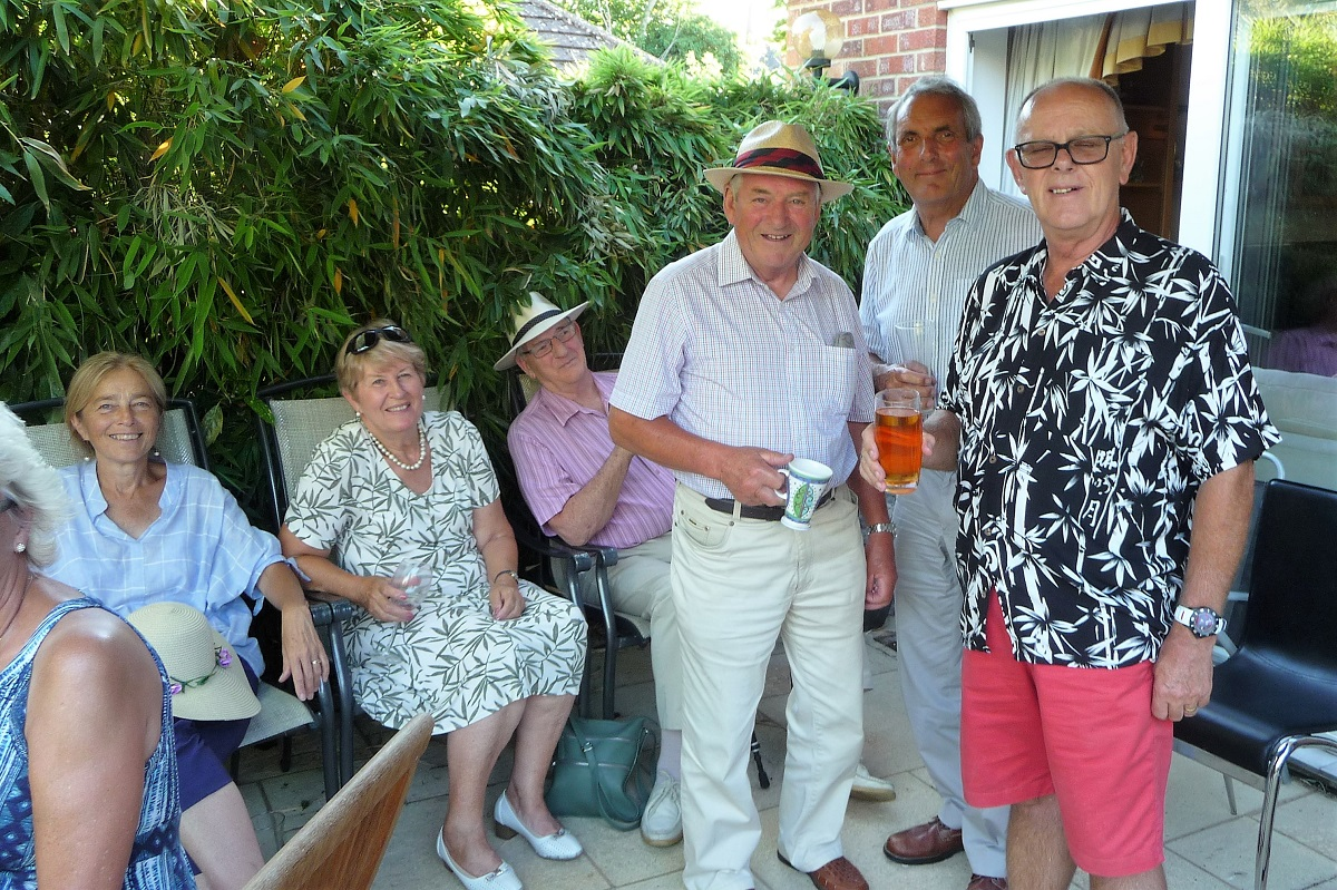 President's summer wine & nibbles 8th July 2018 -