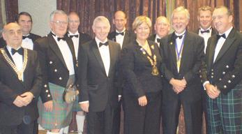Prestwick Rotary is 70 years old - 60th charter dinner