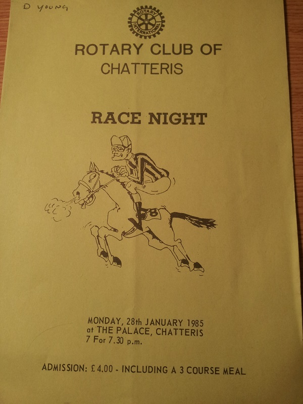 Historic Pictures - race night
