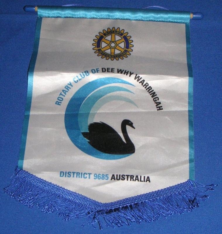 Banners - Collected by Rtn Frank Faulkner 2016 whilst visiting his son in Australia
