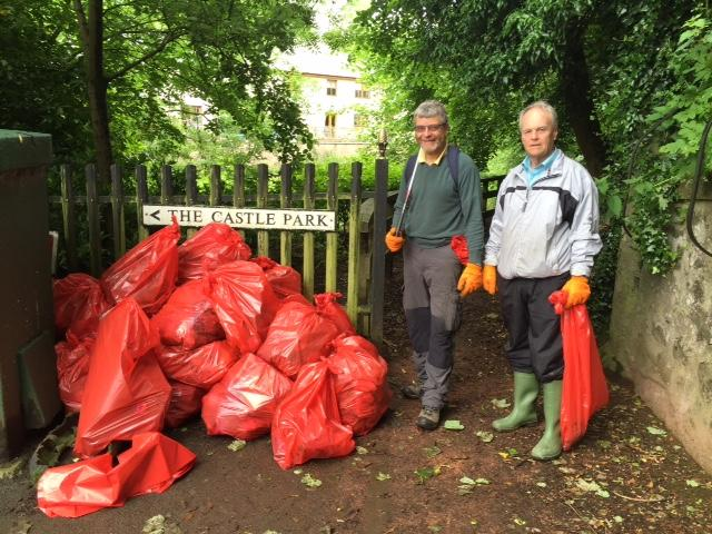 Our Activities: Improving our town and area - LITTER PICKING