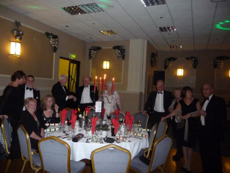 The Rotary Club of Southport Links Christmas Party - rotary christmas do 007