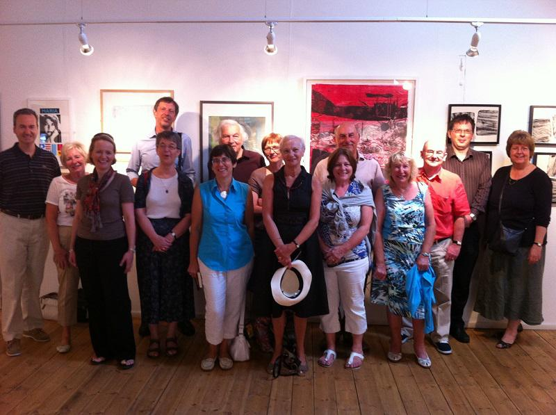 About our Club - Visit to Barton Ropewalk museum with our friends from the RC of Lille Vauban