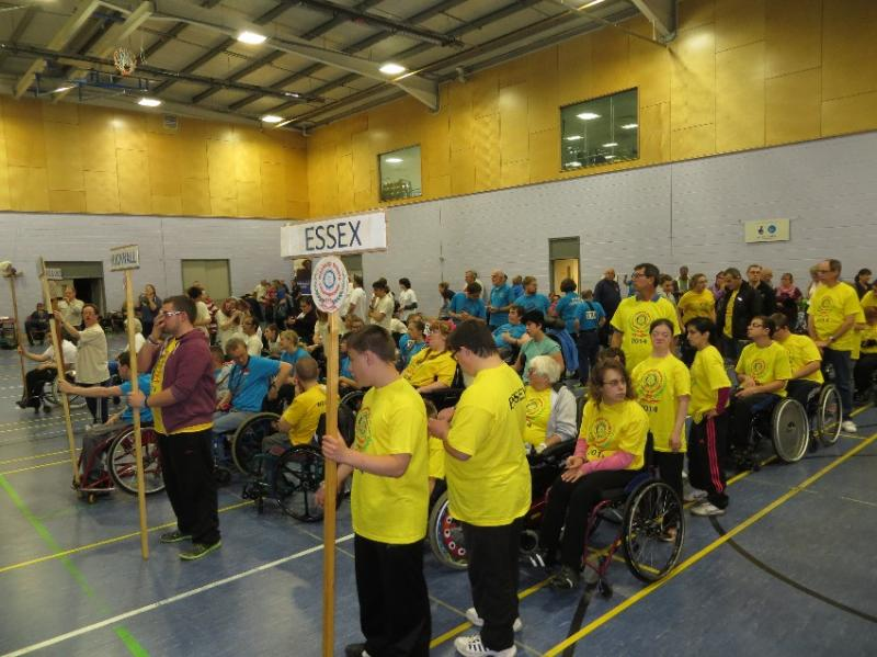 The 33rd English Disabled Sports Team Championships - rotary-disabled-sports2014a