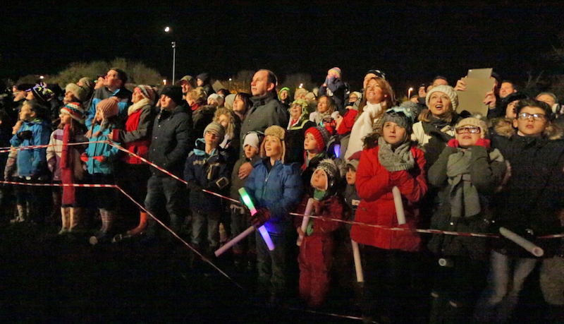Bonfire and Fireworks - Kibworth 5th November 2016 -