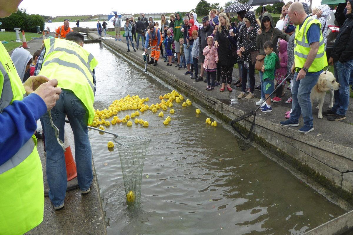 Club Activities - We run a duck race and summer fete to raise money and provide good entertainment