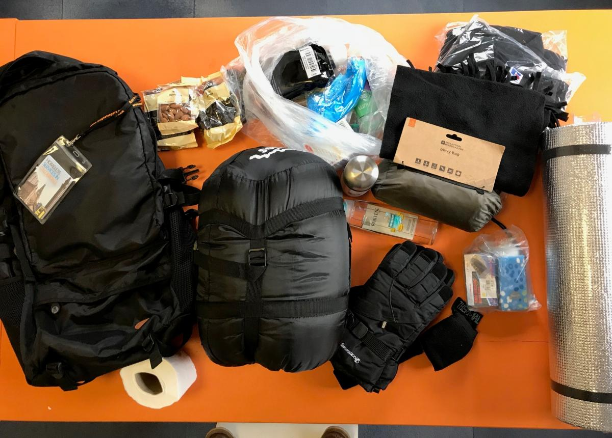 2018 Rucksack appeal - ruck sack contents 3