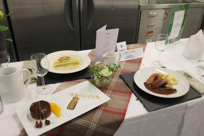 Young Chef District Competition 2016 - runner up menu