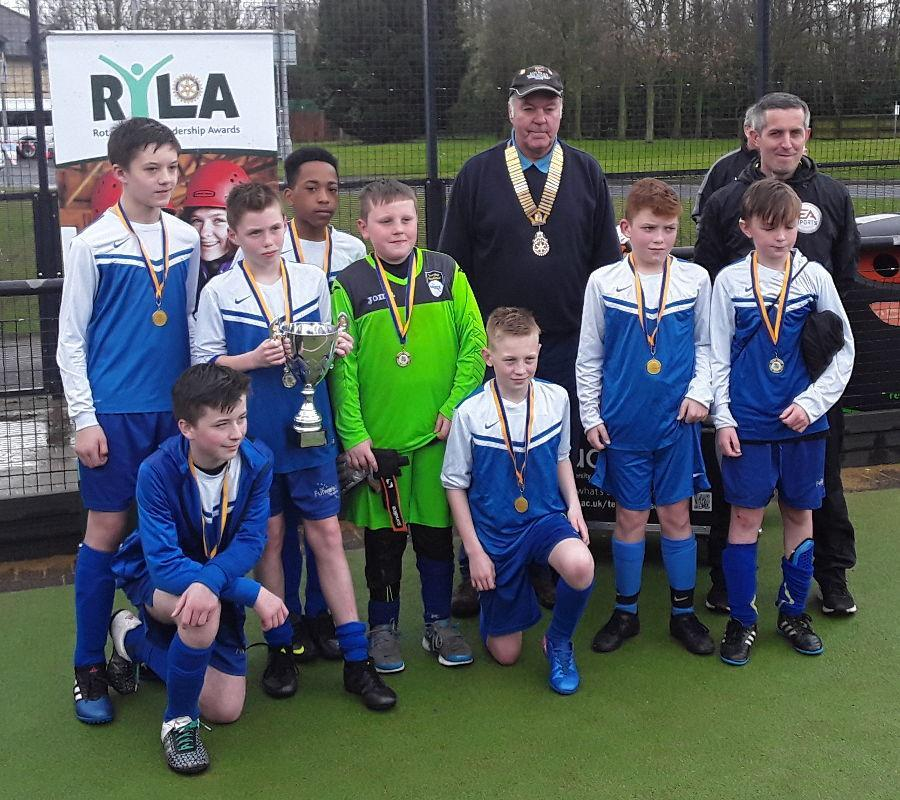 Under 12's Football Competition 2017 - Fulwood Academy
