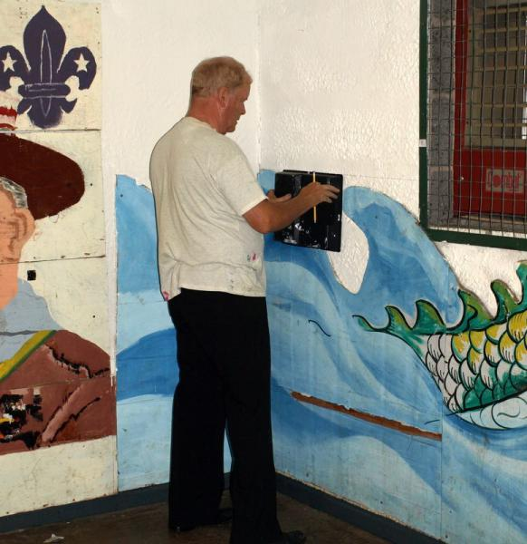 Community Project - Painting the Scout Hut -