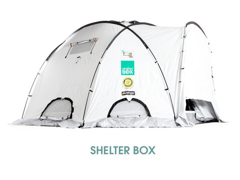 Rotary partners with Shelterbox for disaster aid - Shelterbox 10-person tent