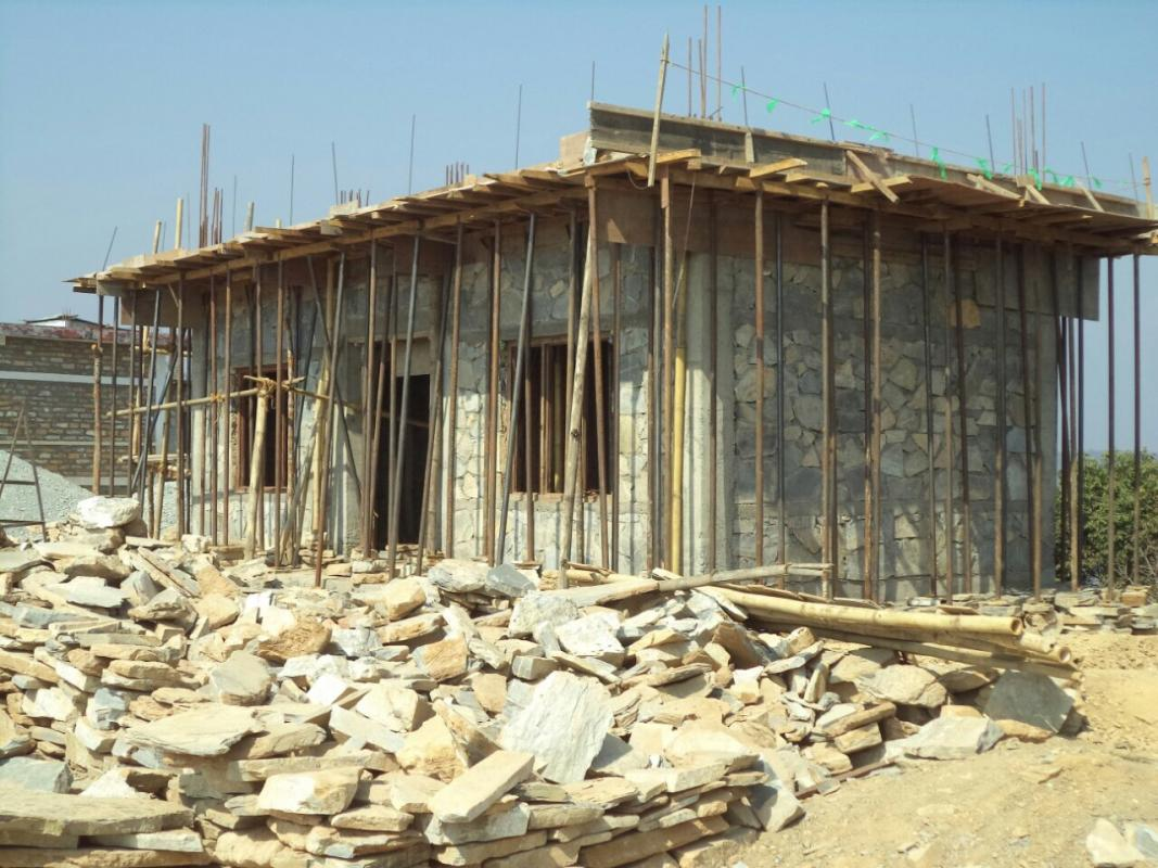 Nepal school project - The roof is on!!