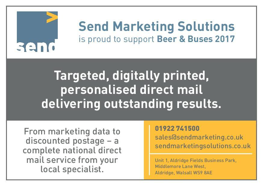 Beer & Buses Festival - sendmarketingsolutions.co.uk