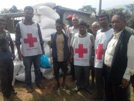 Mirge Nepal Update 4 - Red Cross workers