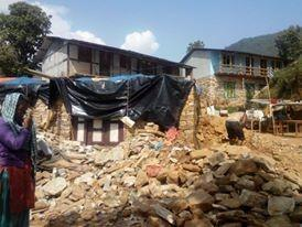 Mirge Nepal Update 2 - Desolation at the homes lost
