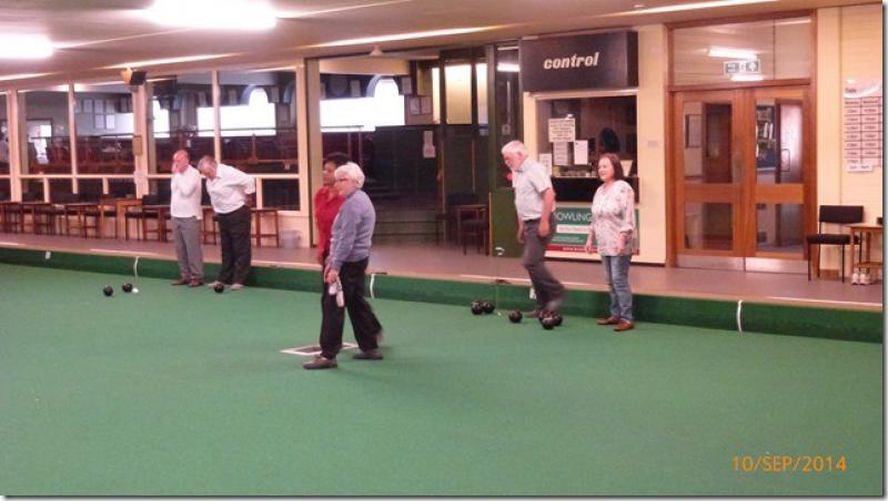 Club Photo Gallery pre July 2015 - Members, partners and friends enjoy social bowling in September 2014