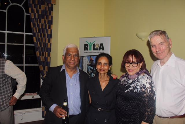 The Club Held An International Evening  - Rotarians & Spouses of Westminster West