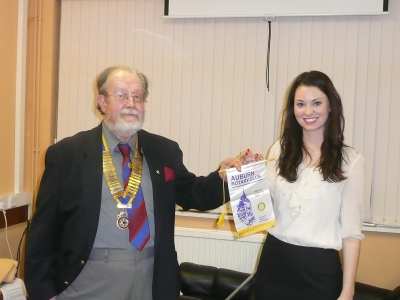 40 years of Rotary in Chatteris - student exchange2011