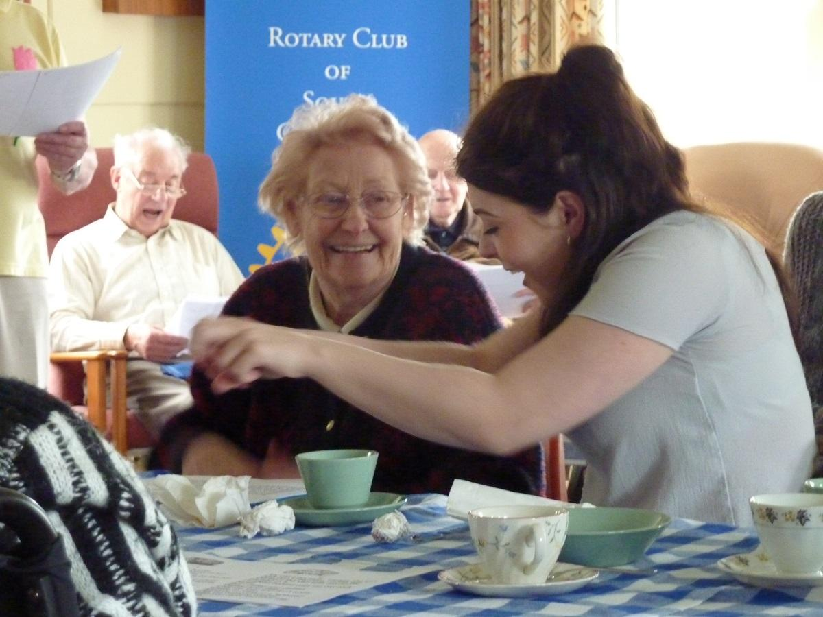 Apr 2017 Girton Memory Cafe - St Vincents Close Hall - .