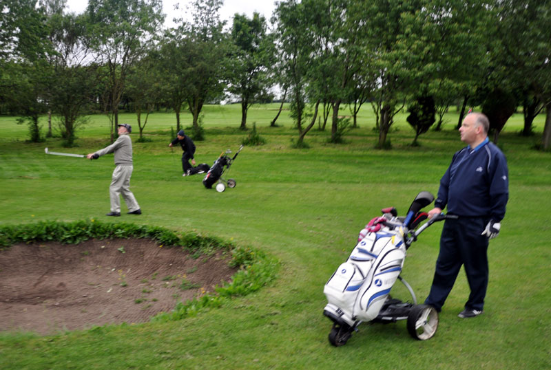 Outside visit - Golf Evening 2012 - terry on the fairway