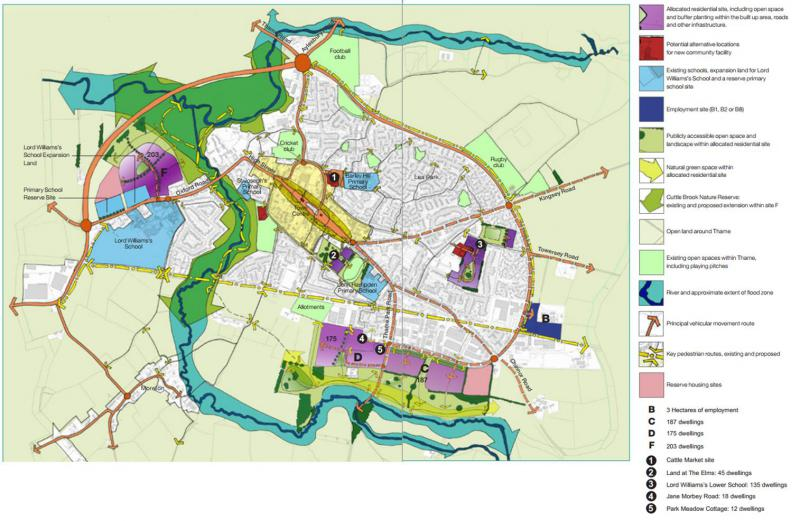 Talk about Thame Neighbourhood Plan - Source: Thame Neighbourhood Plan