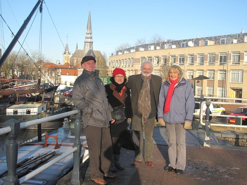 Club members visit Gouda Rotary Club - the old shipyard gouda