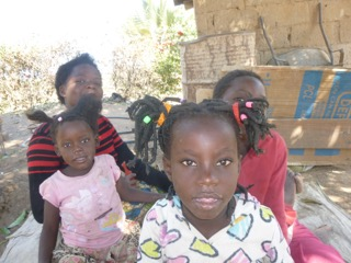 Our Zambia Project - Update - Young children from the village of Monze.
