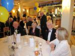 BLACKPOOL SOUTH ROTARY CLUB 2013  CHARTER DINNER.  - (From Left) Rotarians Ken Parkinson & Danielle de Laborie with friends.