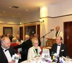 Annual Burns Supper - Pres. James opens the proceedings