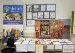 Reading Rooms 150 Year Anniversary - St. Johns Junior School Exhibit
