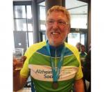 Newbury Rotarian LEJOGing for Charities - after completing a cycle ride to Belgium. Only 250 miles......