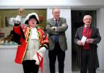 Reading Rooms 150 Year Anniversary - Town Crier MP John Barron & President Keith Wood