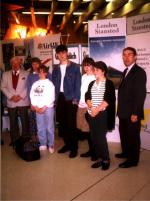 International Exchange Visits - 06-023 Dyce Airport Departure YE Students 1993
