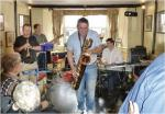CHIPPY JAZZ AND MUSIC 2012 - This band of local musicians got the Blue Boar really stomping.