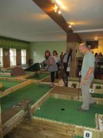 Indoor Crazy Golf - Not a hole in one this time Ian
