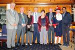 Hospital Consultant from India visits Blackpool South Rotary Club - Kannane with some members of Blackpool South Rotary Club.