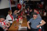 FRENCH THEMED ST VALENTINE DINNER. - Why is Monsieur Mayor the only one smiling.