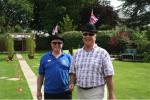 Fun Olympic Games in the Club President's Garden -