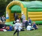 Jun 2013 Kids Out Day at Wimpole Hall and Farm - 10 Bouncy Castle great fun!