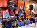 CHIPPY JAZZ AND MUSIC 2013 - Perry Lock and his Trio kept jazzers going.