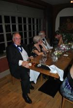 7:30pm PRESIDENTS NIGHT at the Clive Hotel, Ludlow - Paul, Joan, Clive and Sheila enjoying the moment
