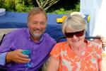 About our Club - President's garden party - Steve and Gill