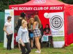 PeaceJam at Jersey Live - Youngsters connecting with youngsters