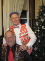 Christmas Party 2016 - My waistcoat would go with your tie David.