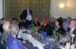 Burns Night at Pinner Hill Golf Club - Malcolm gives the Address to the Lassies