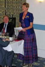 Burns Night at Pinner Hill Golf Club - Hilary Responds for the Lassies